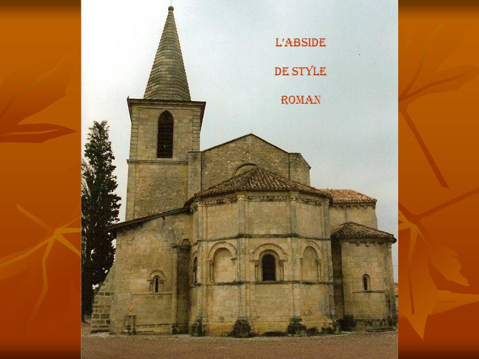 L'abside De style roman