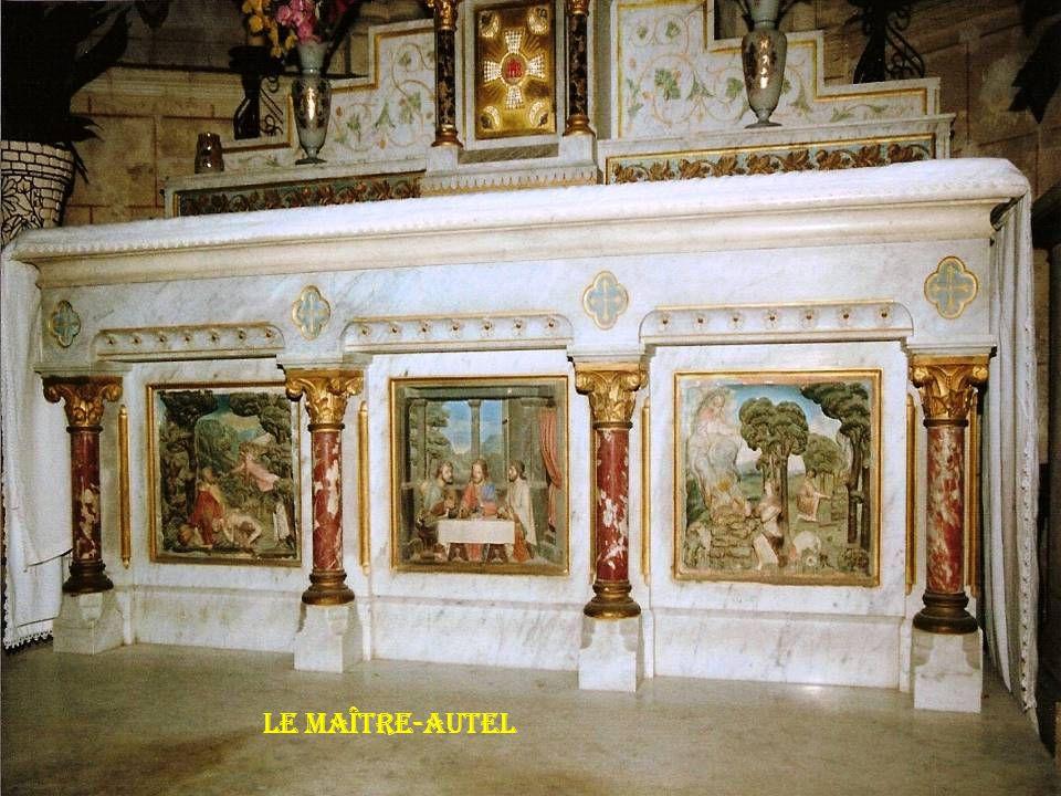 Le maître-autel