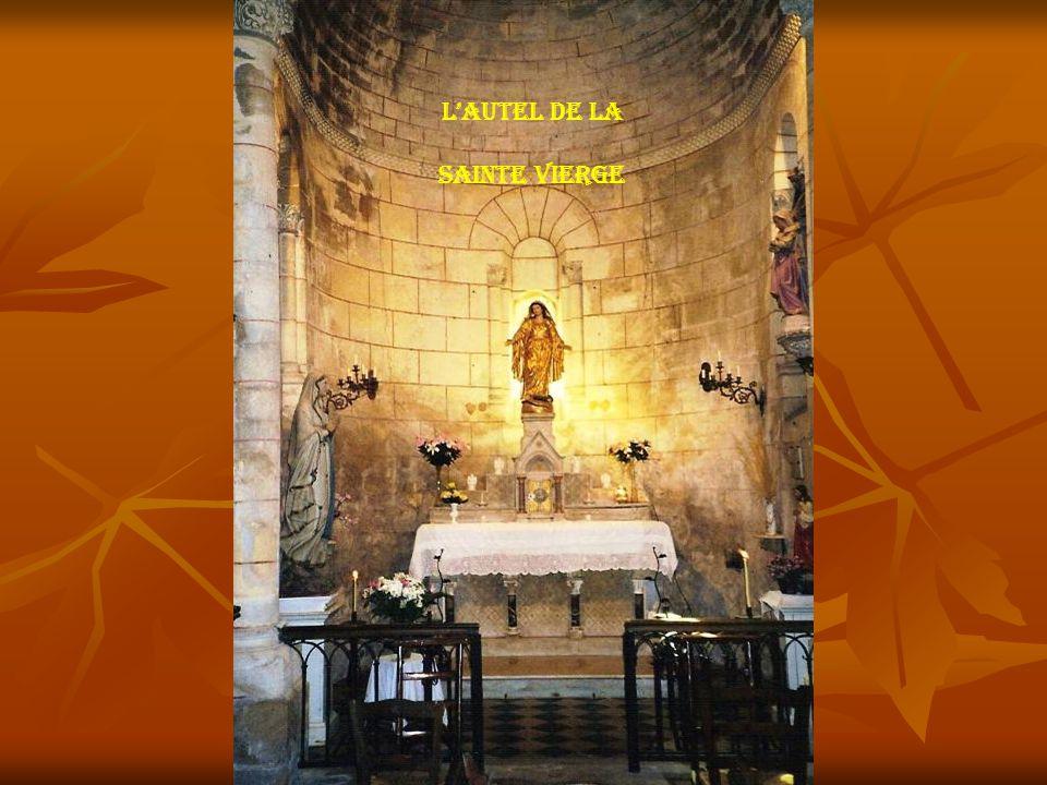 L'autel de la Sainte vierge