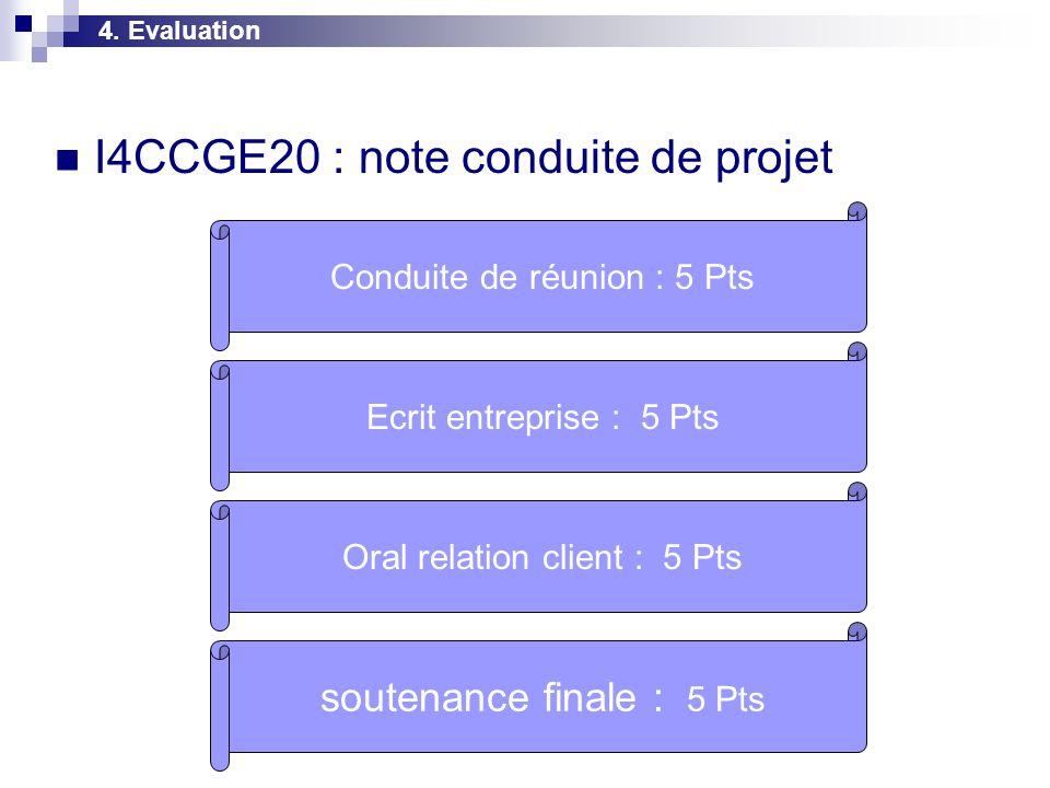 I4CCGE20 : note conduite de projet
