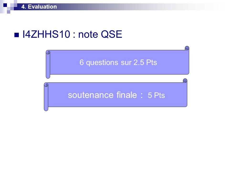 soutenance finale : 5 Pts