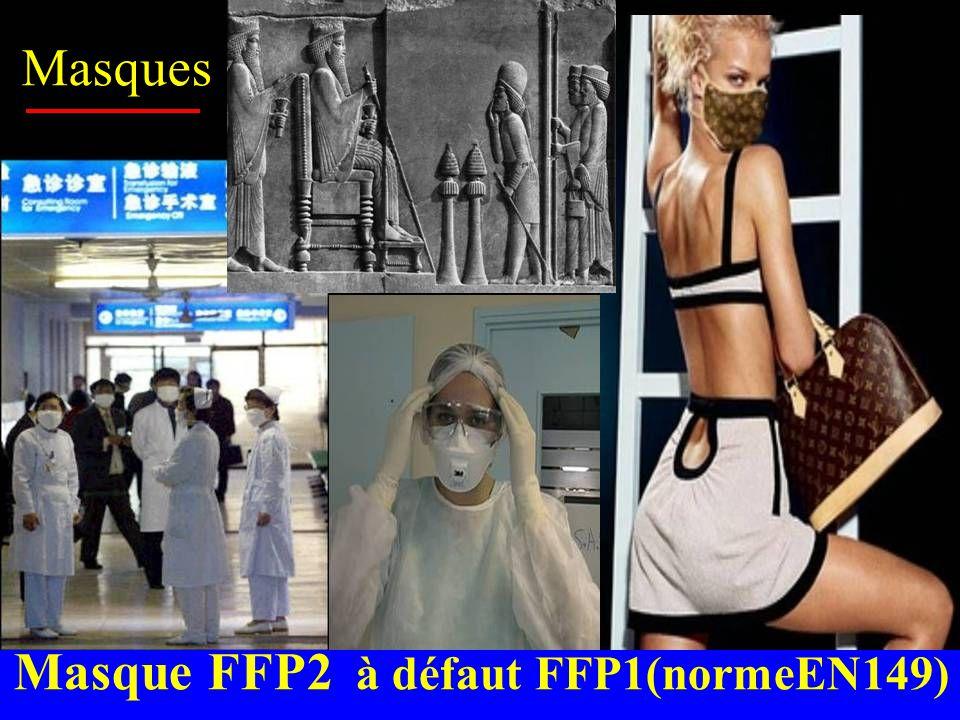 Masques Masque FFP2 à défaut FFP1(normeEN149)
