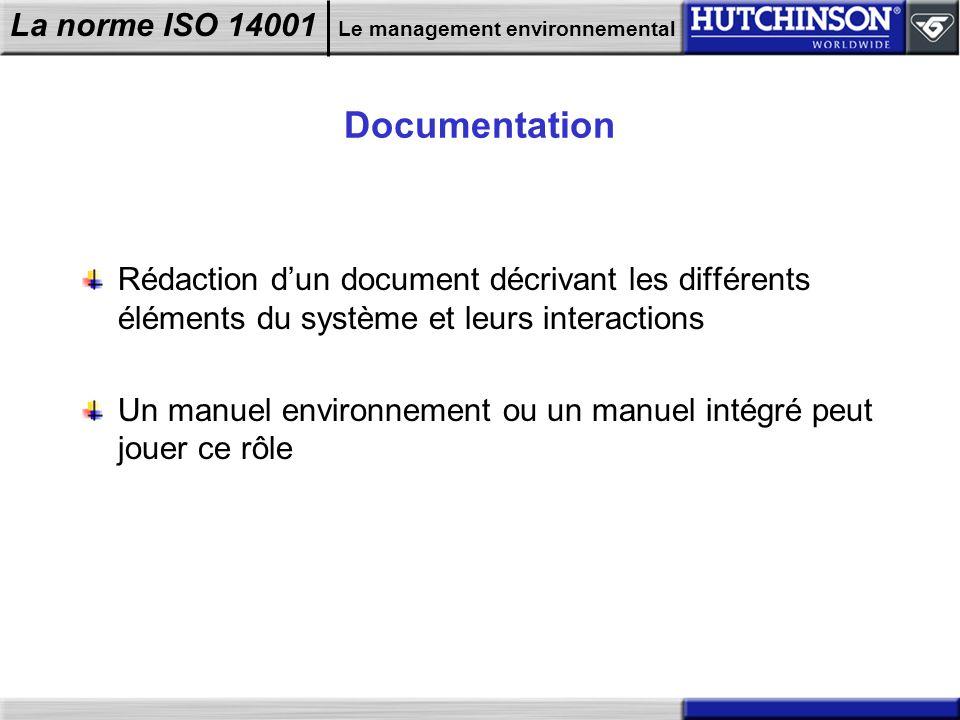 Documentation Rédaction d'un document décrivant les différents éléments du système et leurs interactions.