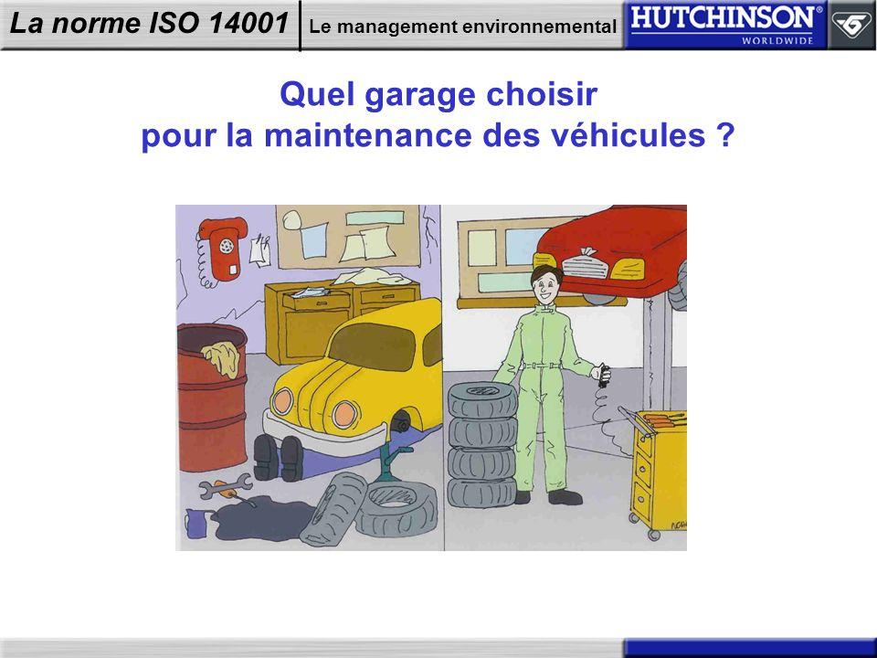 Quel garage choisir pour la maintenance des véhicules