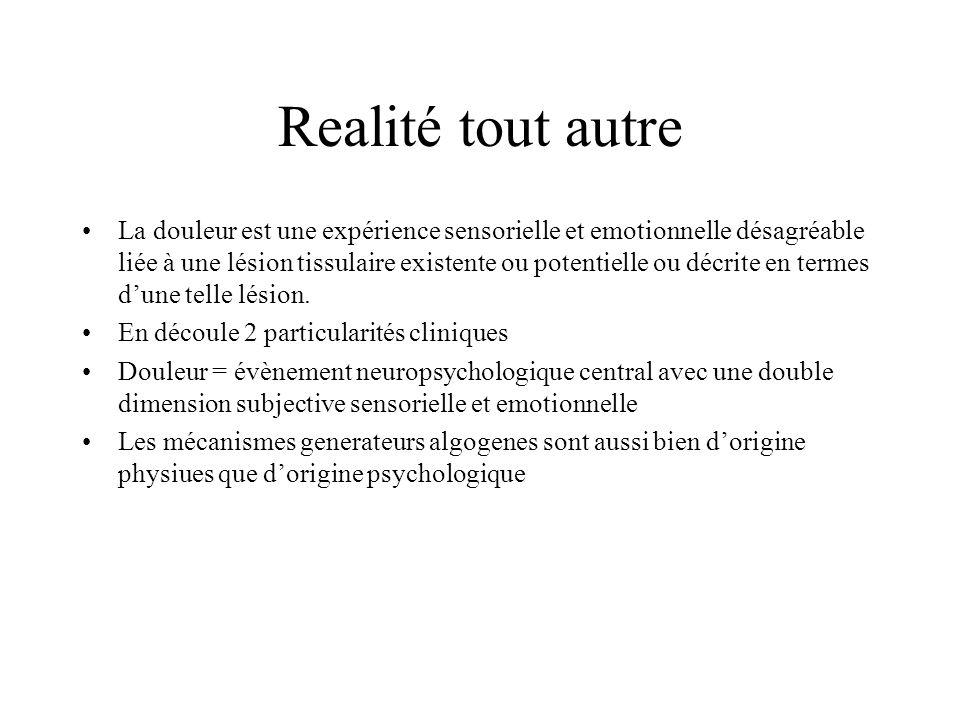 Realité tout autre