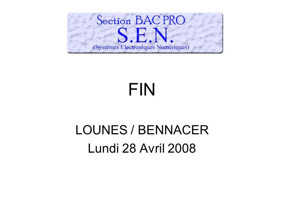 LOUNES / BENNACER Lundi 28 Avril 2008