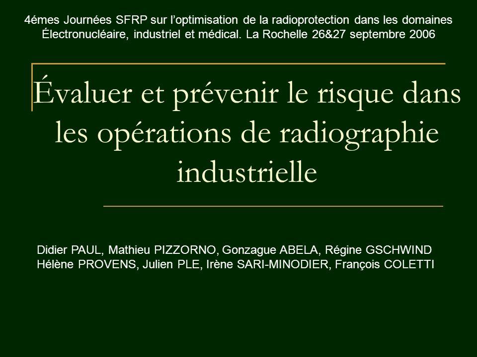 4émes Journées SFRP sur l'optimisation de la radioprotection dans les domaines