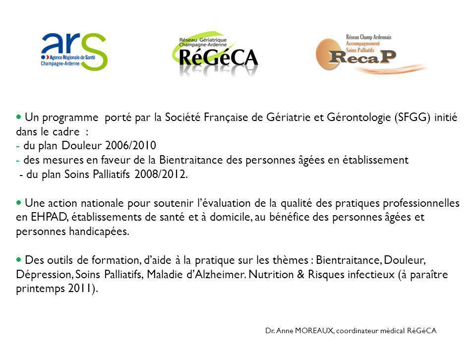 - du plan Soins Palliatifs 2008/2012.