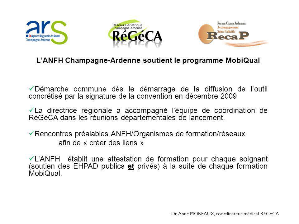 L'ANFH Champagne-Ardenne soutient le programme MobiQual