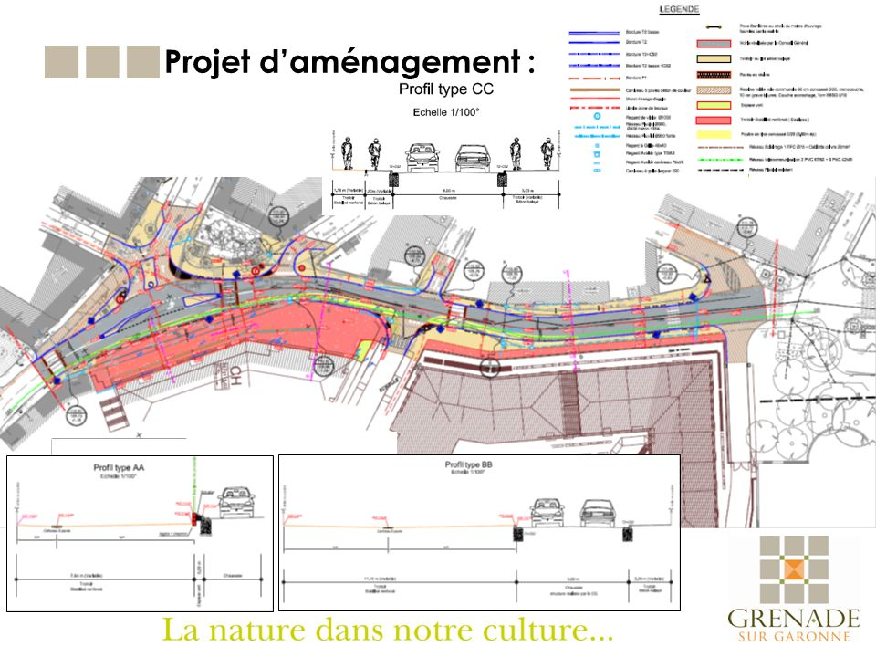 Projet d'aménagement :