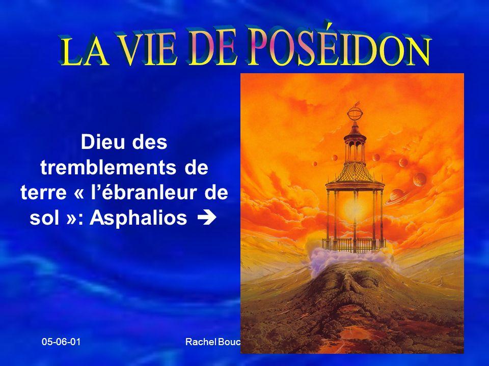 Dieu des tremblements de terre « l'ébranleur de sol »: Asphalios 