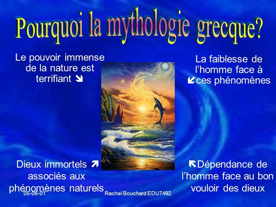 Pourquoi la mythologie grecque