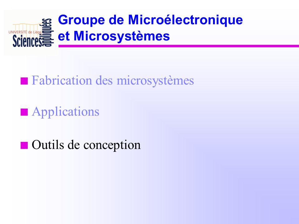 Groupe de Microélectronique et Microsystèmes