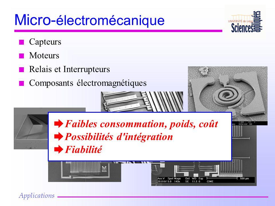 Micro-électromécanique