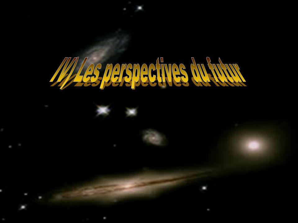 IV) Les perspectives du futur