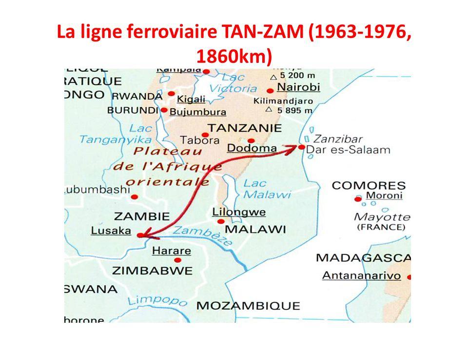 La ligne ferroviaire TAN-ZAM (1963-1976, 1860km)