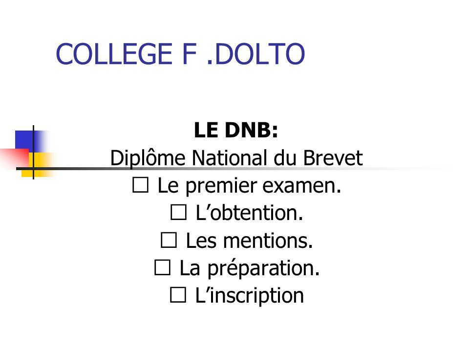 Diplôme National du Brevet