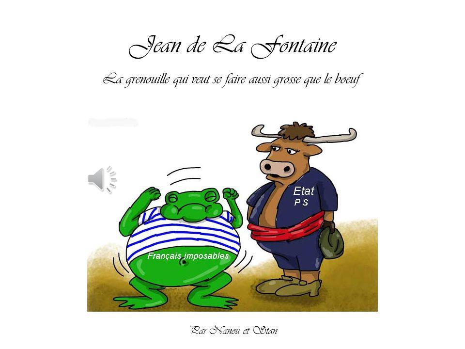 Jean de la fontaine la grenouille qui veut se faire aussi - Image la grenouille et le boeuf ...