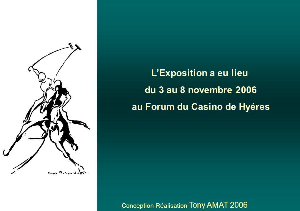 au Forum du Casino de Hyéres