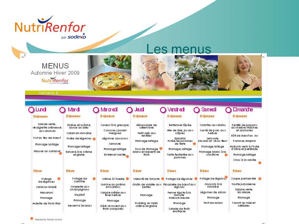 Les menus 11e JIQHS