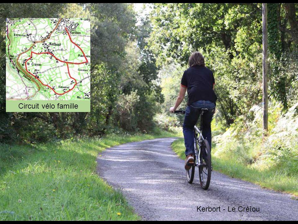 Circuit vélo famille Kerbort - Le Créîou