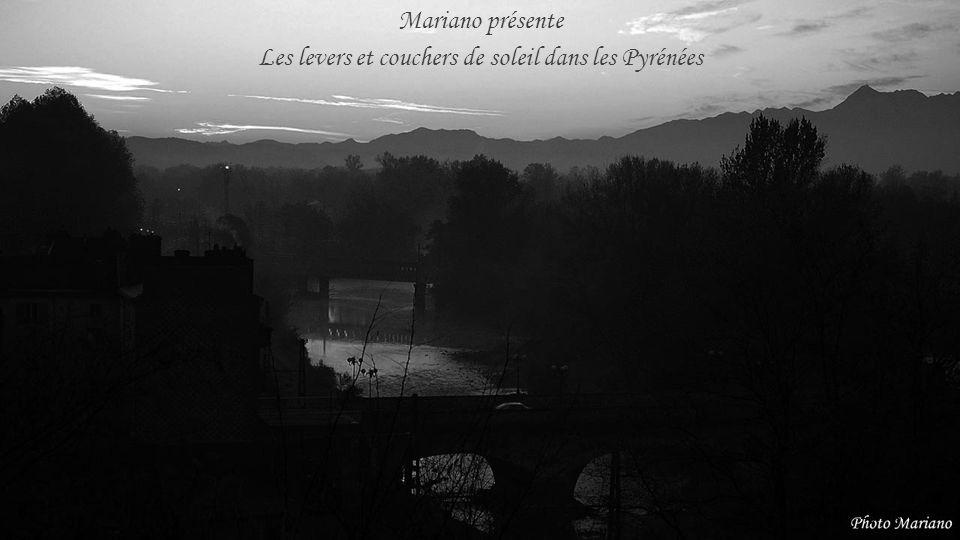 Les levers et couchers de soleil dans les Pyrénées