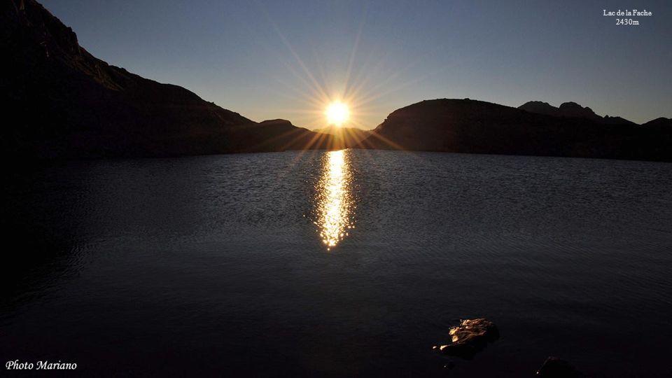 Lac de la Fache 2430m . . . . . . . . .