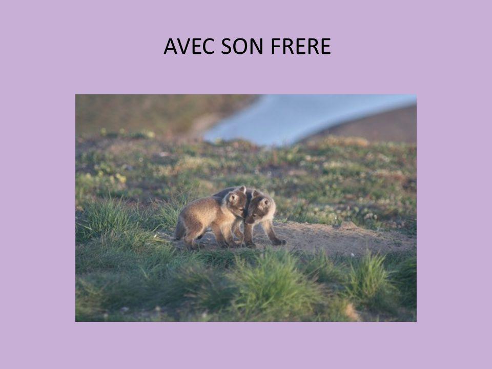 AVEC SON FRERE