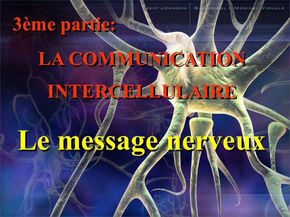 LA COMMUNICATION INTERCELLULAIRE