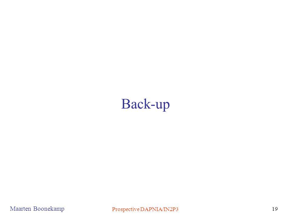 Prospective DAPNIA/IN2P3