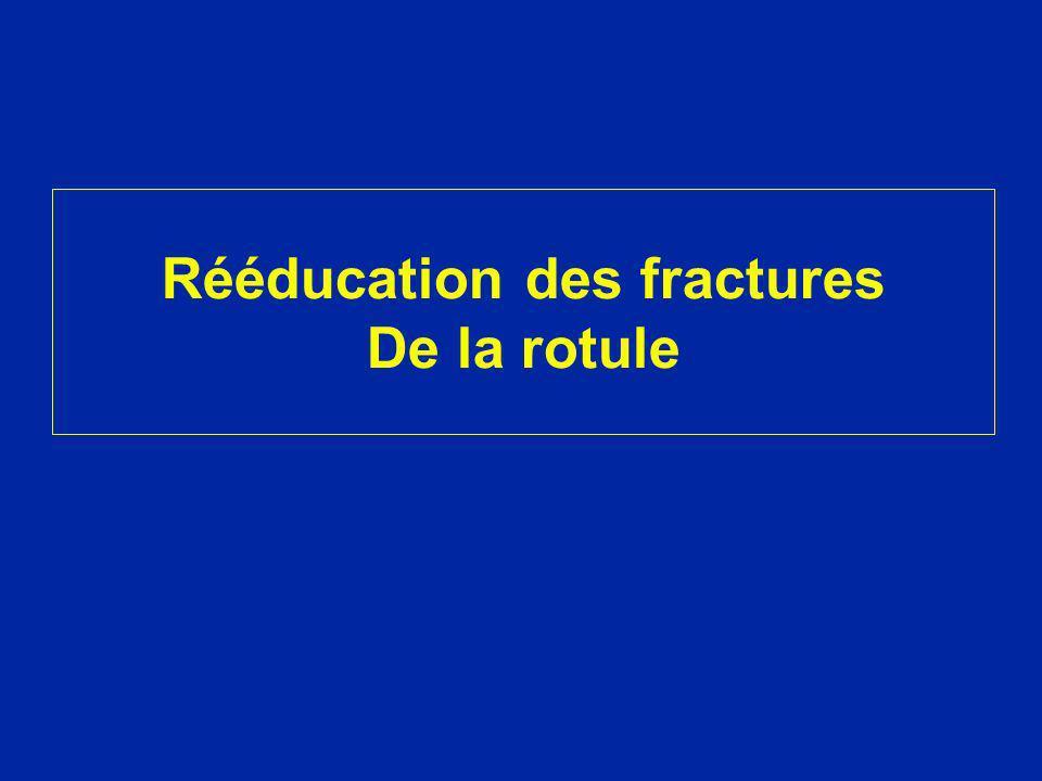 Rééducation des fractures