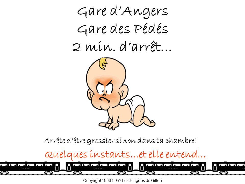 Gare d'Angers Gare des Pédés 2 min. d'arrêt…