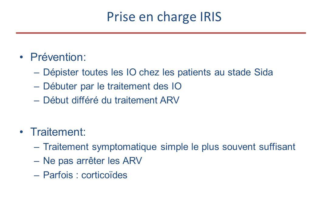 Prise en charge IRIS Prévention: Traitement: