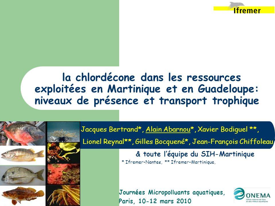 Journées Micropolluants aquatiques, Paris, 10-12 mars 2010