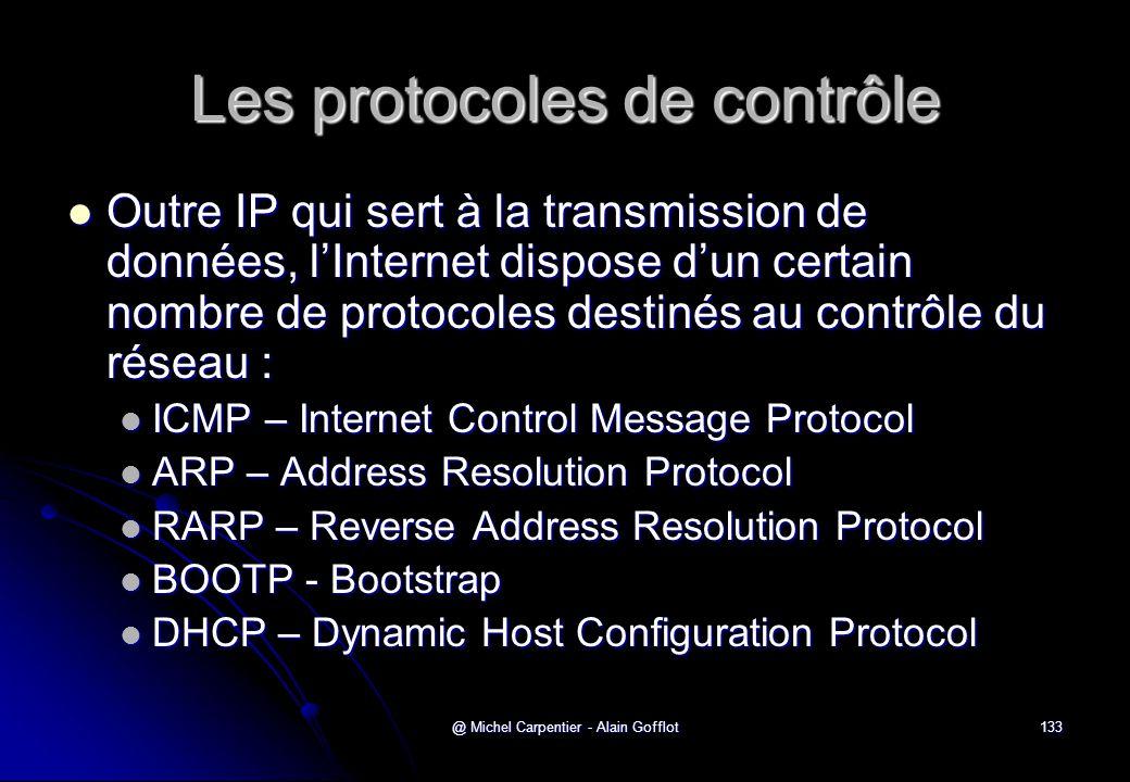 Les protocoles de contrôle