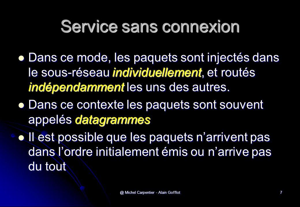 Service sans connexion