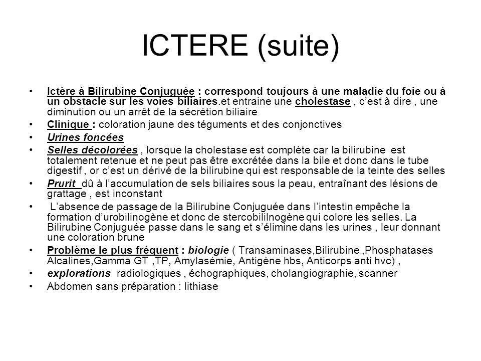 ICTERE (suite)