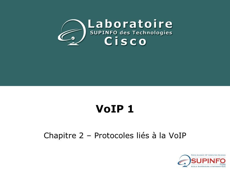 Chapitre 2 – Protocoles liés à la VoIP