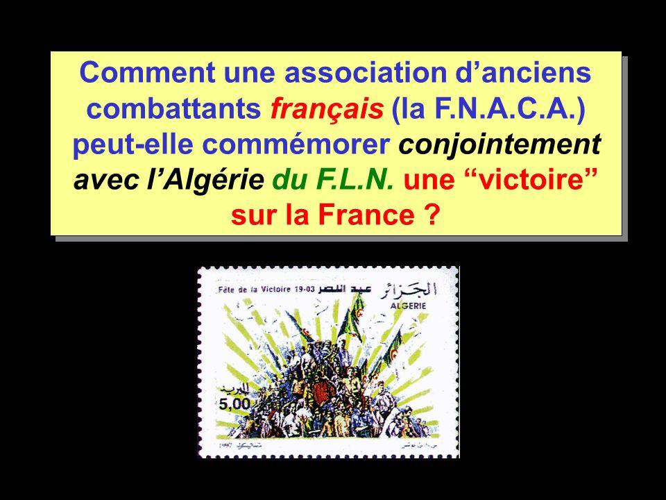 Comment une association d'anciens combattants français (la F. N. A. C