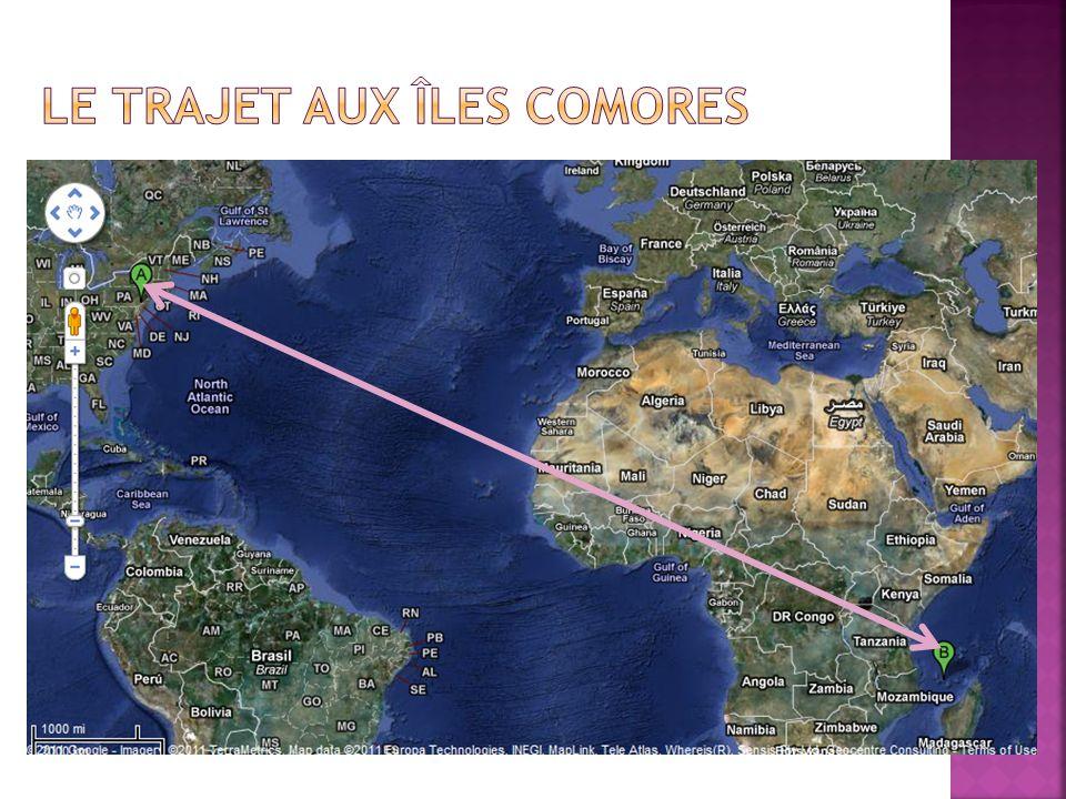 Le Trajet Aux Îles Comores