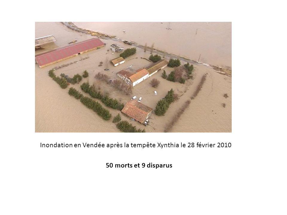 Inondation en Vendée après la tempête Xynthia le 28 février 2010