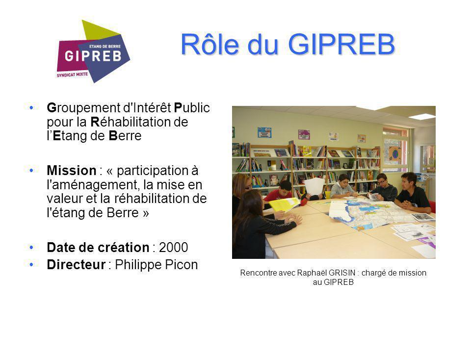 Rencontre avec Raphaël GRISIN : chargé de mission au GIPREB