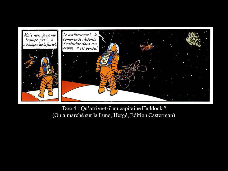 Doc 4 : Qu'arrive-t-il au capitaine Haddock