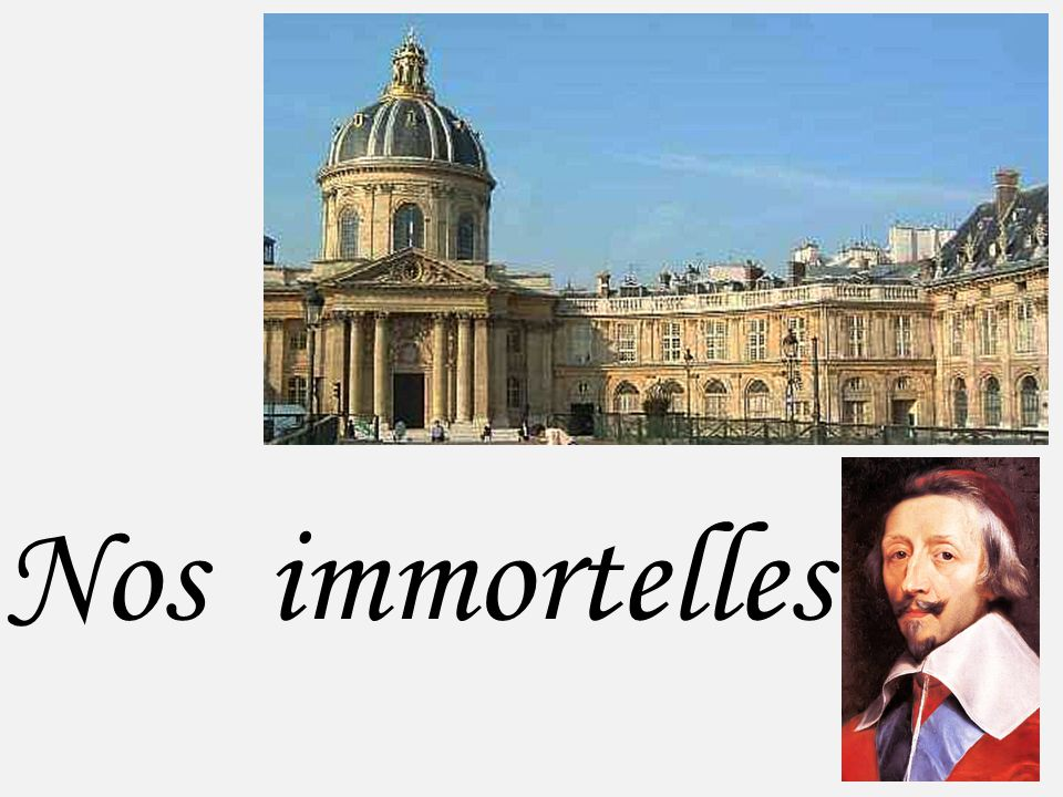 Nos immortelles