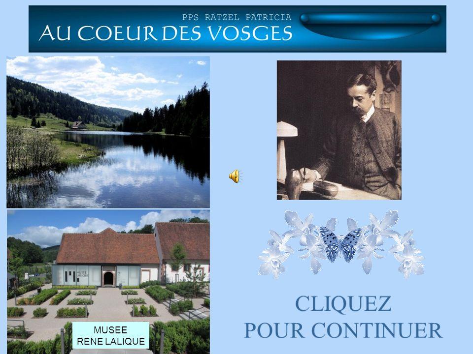 CLIQUEZ POUR CONTINUER MUSEE RENE LALIQUE