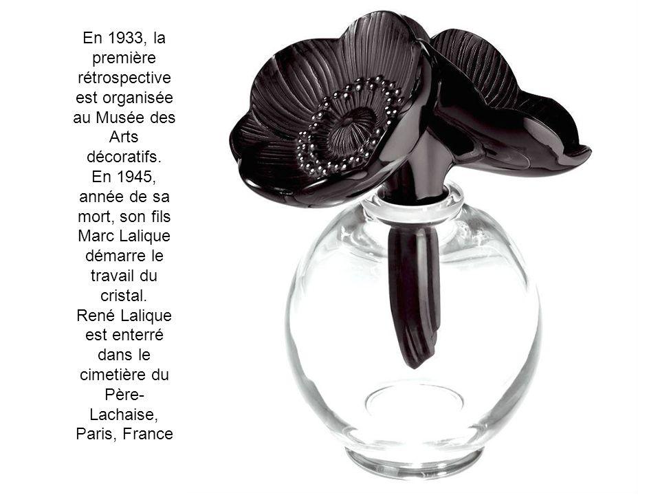En 1933, la première rétrospective est organisée au Musée des Arts décoratifs.
