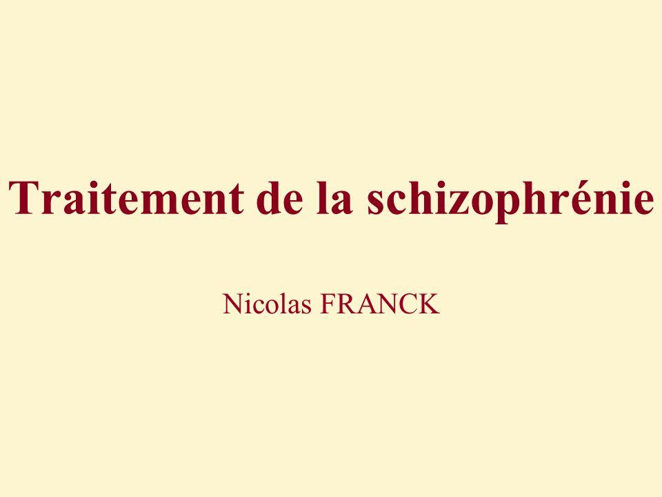 Traitement de la schizophrénie