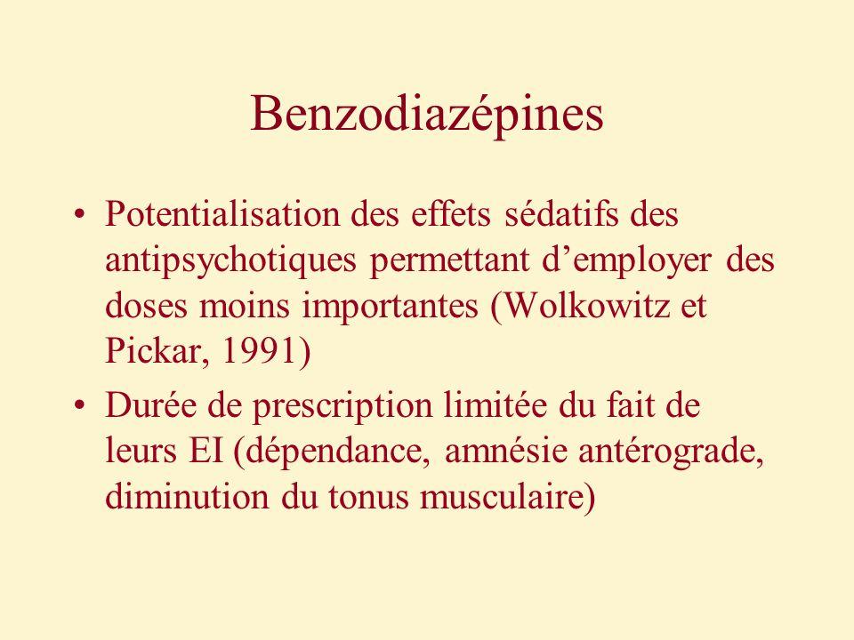 Benzodiazépines