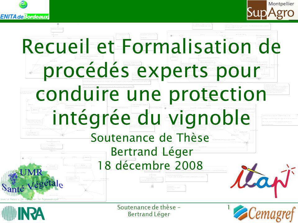 Soutenance de Thèse Bertrand Léger 18 décembre 2008