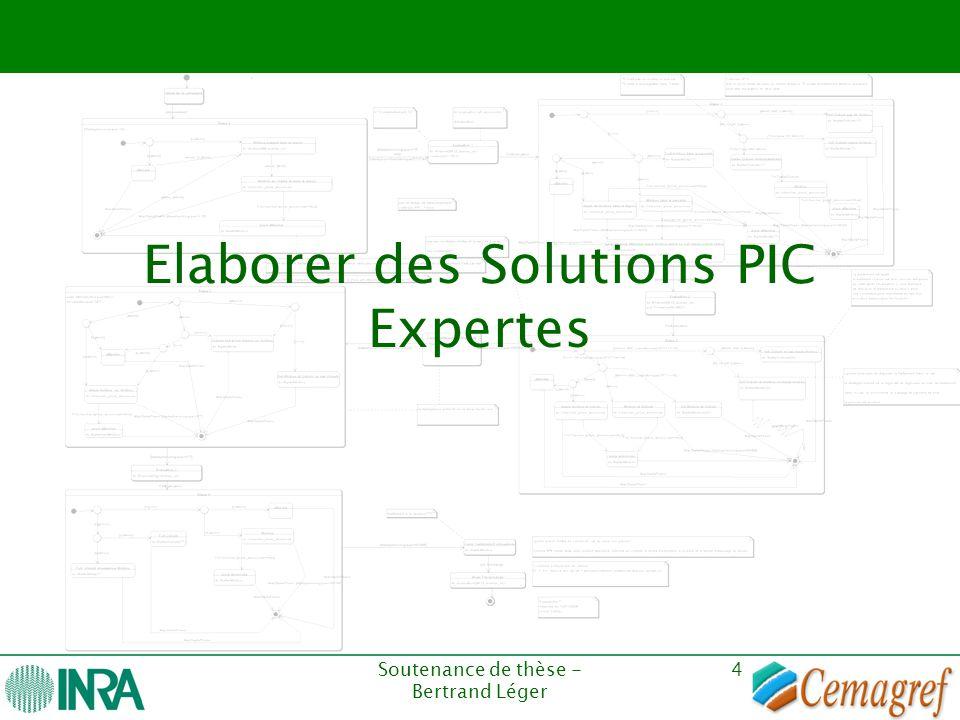 Elaborer des Solutions PIC Expertes